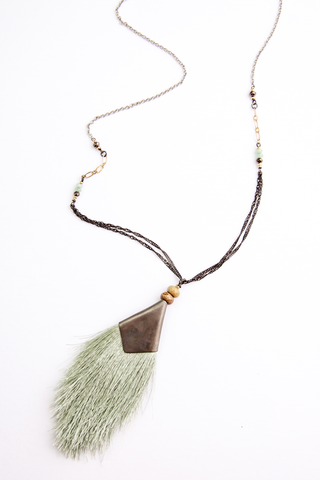 Fringe Tassel Necklace