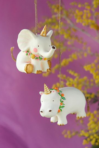 Fruity Unicorn Animal Ornament