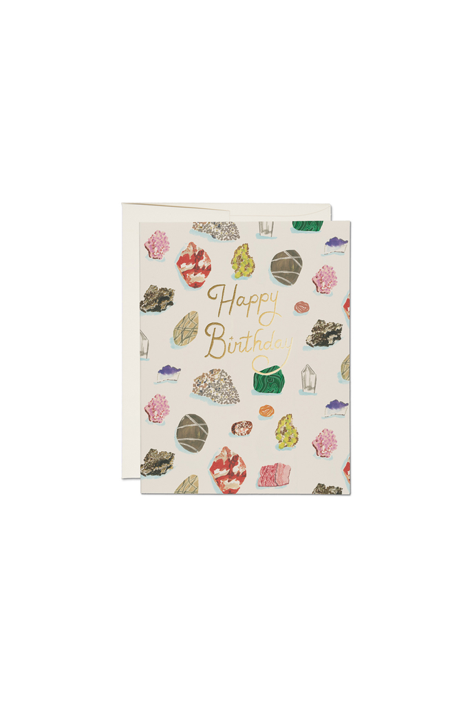 Birthday Gems Foil Card