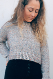 Glitter Bomb Cropped Sweater