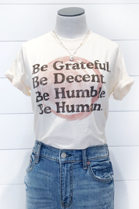 Be Grateful Graphic Tee