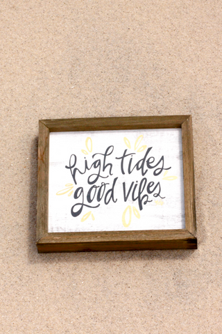 High Tides Barn Box Sign - House of Lucky