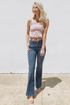 Janet High Rise Flare Jeans