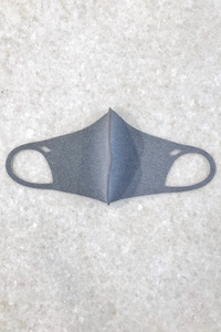 Kids Heather Grey Mask