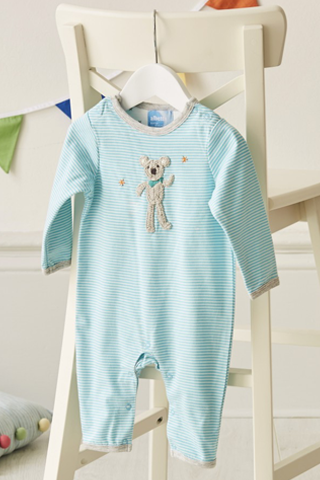 Crochet Koala Babygro Onesie - House of Lucky