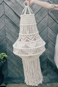 Large Macrame Hanging Decor