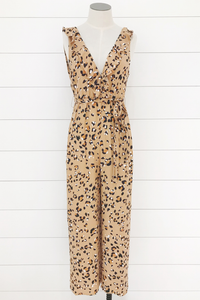 Leopard Tracks Jumpsuit