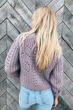 Georgia Thick Knit Sweater