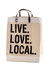 SH Live Love Local Market Tote