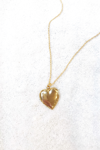 You Have My Heart Gold Velvet Locket