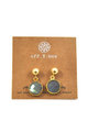 Lula Stone Earrings - House of Lucky