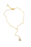 Luna Lariat Necklace - House of Lucky