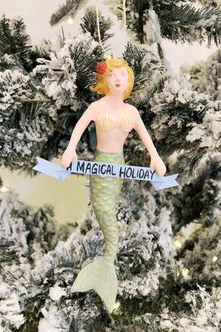 Magical Mermaid Ornament
