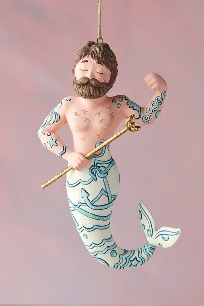 Merman Ornament - House of Lucky