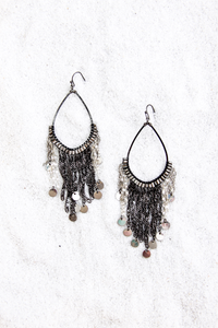 Mini Coin Chandelier Earring - House of Lucky