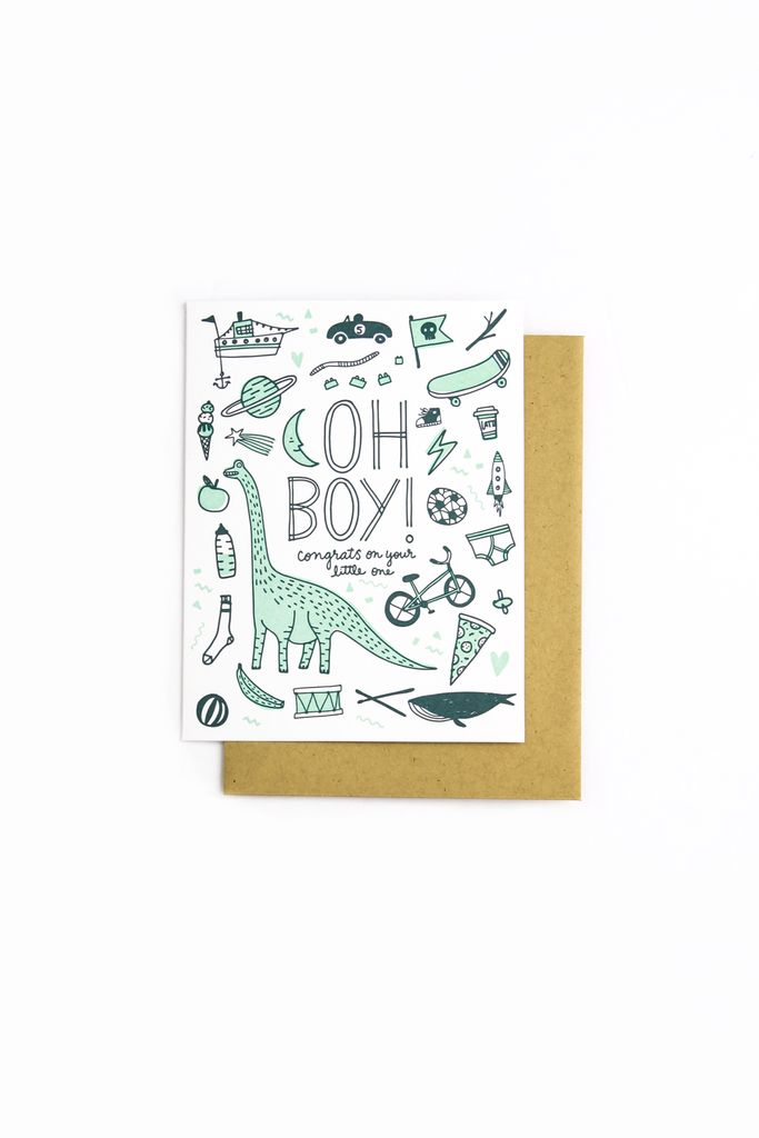Boy Things Card