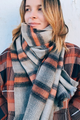 Pastel Plaid Scarf