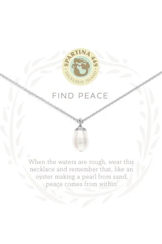Simple Pearl Y Necklace - House of Lucky