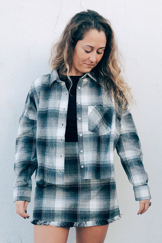 Denver Cropped Flannel