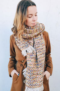 Popsicle Tweed Scarf