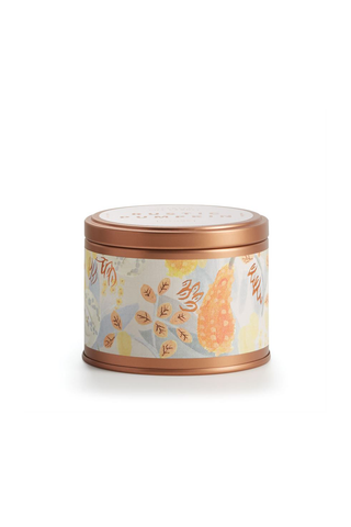 Rustic Pumpkin Autumnal Tin Candle