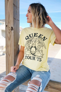 Queen Tour '75 Boyfriend Tee
