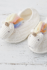 Rainbow Unicorn Booties - House of Lucky