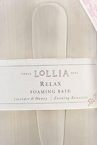 Relax Foaming Bubble Bath Relax - House of Lucky