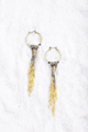 Ring & Chain Tassel Earring - House of Lucky