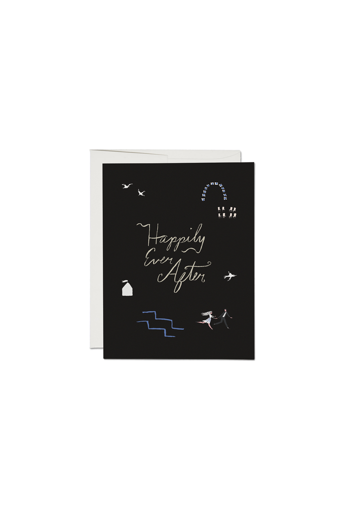 Runaways Foil Wedding Card