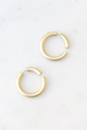 Matte Interlocking Hoops