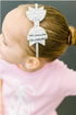 SH Glitter Bow Hard Headband