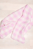 Single Swaddle - Lilac Plaid - House of Lucky