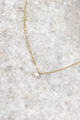 GV Small Pearl Simple Chain Necklace