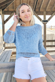 Springy Crop Sweater