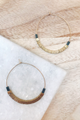 Square Bead Hoops
