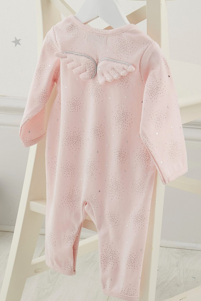 Stardust Wings Babygro - House of Lucky