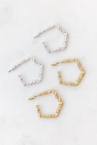 Stardust Medium Hoops