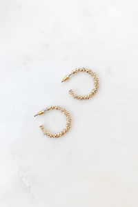 Stardust Small Hoops