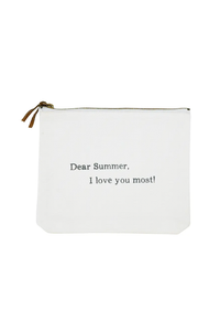 SH Summer I Love You Most Pouch