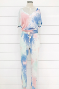 Suns Out Tie Dye Joggers