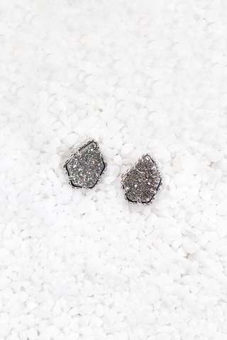 Tessa Druzy Stud Earrings