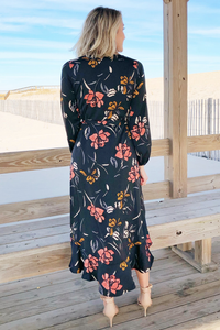 Tia Wrap Dress