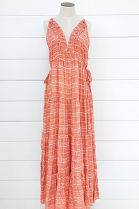 Tie Side Maxi Dress