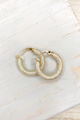 Pave Tube Hoops