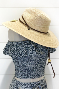 Unisex Palm Braid El Campo Hat