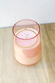 Pink Pine Winsome Glass Candle