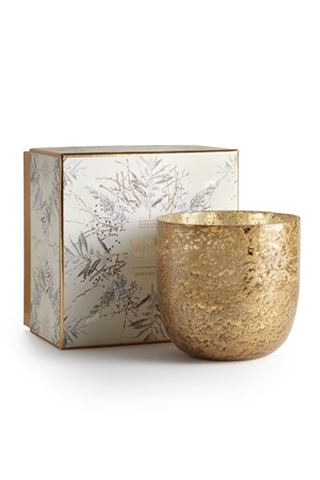Winter White Luxe Sanded Mercury Candle