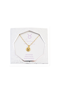 Shimmer Zodiac Charm Necklace
