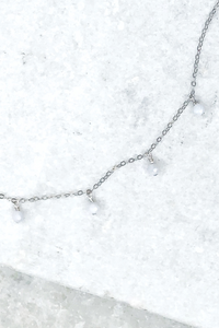 Silver Serena Shaker Necklace